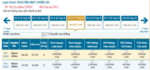Chia sẻ cách tính ngày mua vé máy bay đi Đà Lạt giá rẻ
